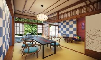 [가나가와현]디자이너스 료칸, '하코네 코와키엔 텐유'