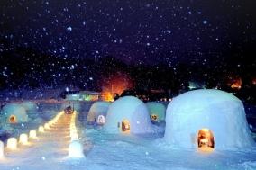 설국의 눈 집에서 겨울요리 즐겨보세요!