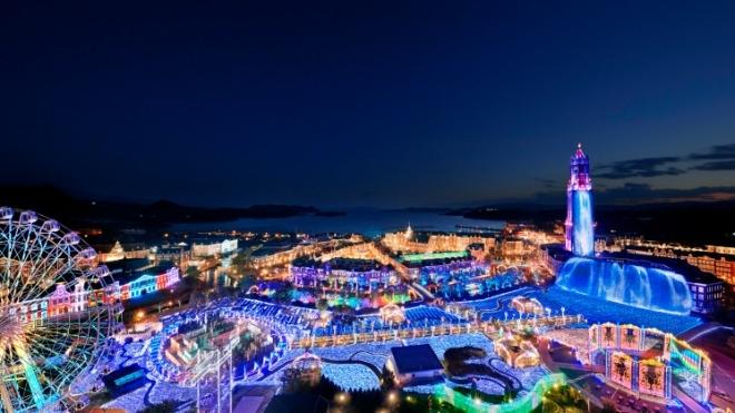 일본 최대 일루미네이션 이벤트, 하우스텐보스 '빛의 왕국' 개막